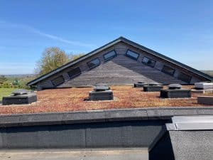 Roof at Salway Ash Primary School