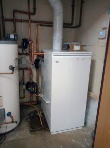New boiler at Zeals Primary School